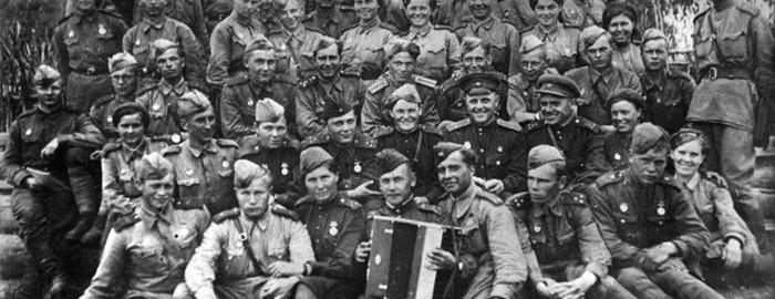 Бойцы Сибирской добровольческой дивизии