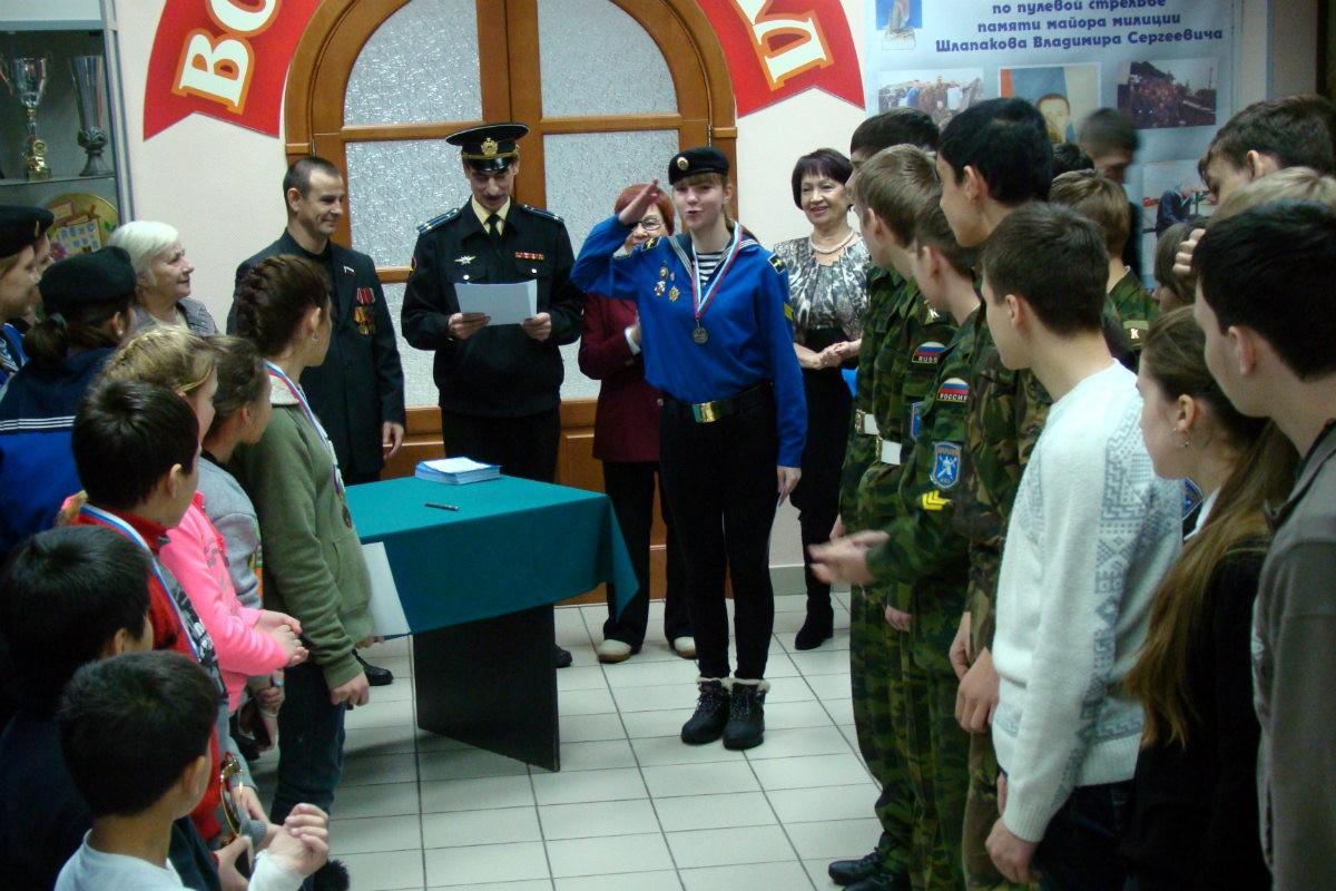 Открытое первенство Калининского района по пулевой стрельбе на приз майора милиции Владимира Шлапакова