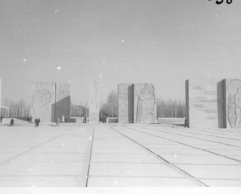 Монумент Славы. 1970 г.