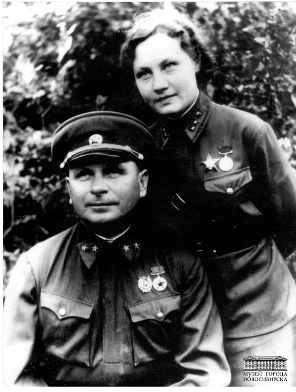 Фоканов Яков Степанович с женой Ниной Алексеевной