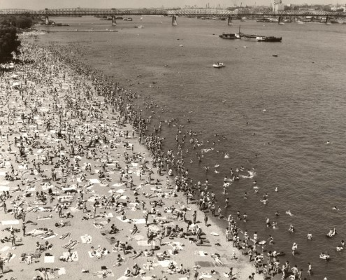Городской пляж. 1980