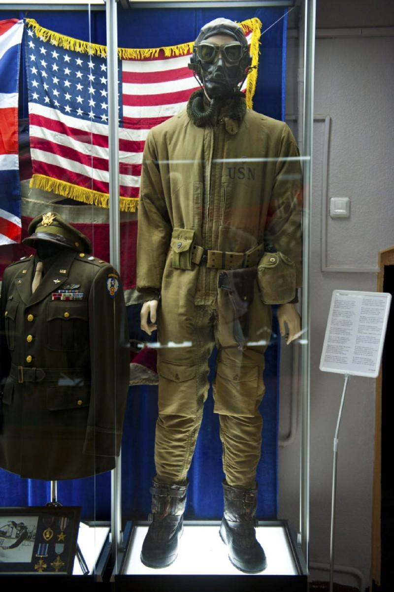 Коплект обмундирования пилота ВВС США времен Второй Мировой войны