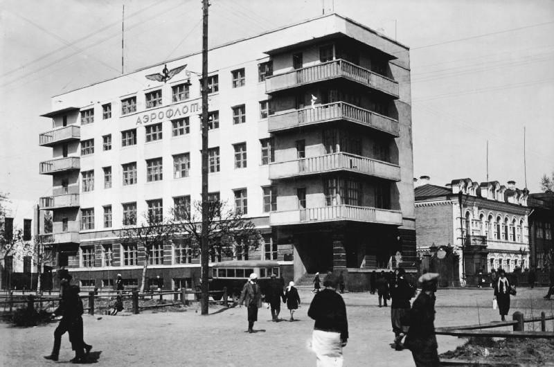 Красный пр 44 Дом аэрофлота нач 30-х