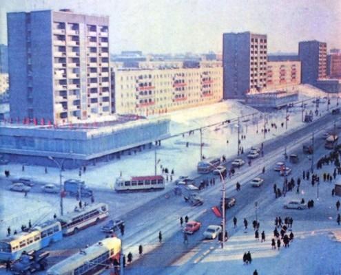 Кропоткинский жилмассив. 1975