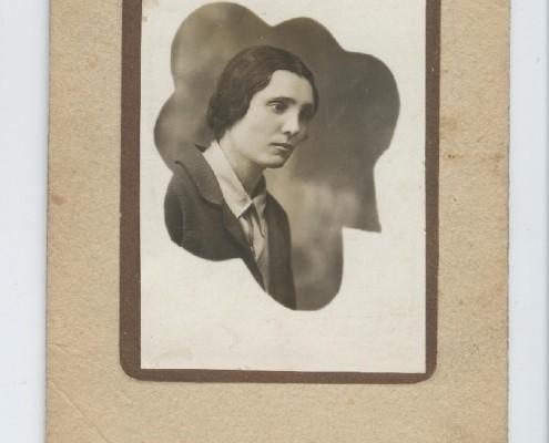 Мама Риммы Даниловны Маляновой. 1939 г. 30 января.