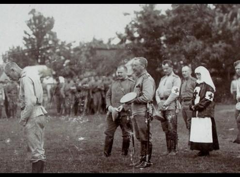 Молебен по случаю награждения Георг.Крестами из частной коллекции Панченко А.М.