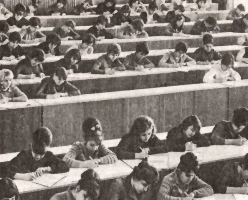 Первая лекция. 1974