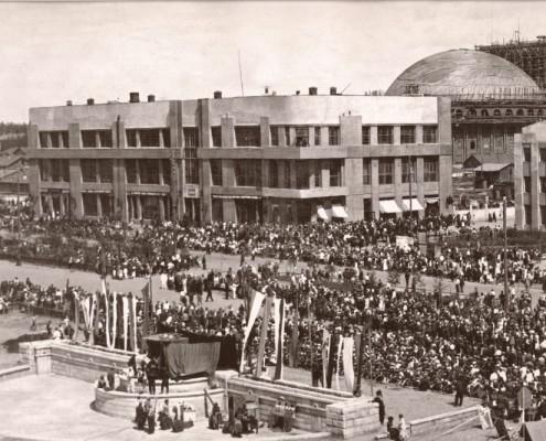 Первомайская демонстрация. 1934