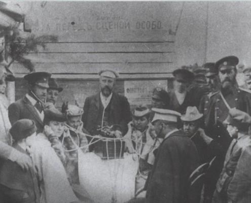 Первый фонограф 1896