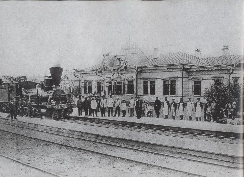 Шамшурина 43 Вокзал станции Обь (Новониколаевск)