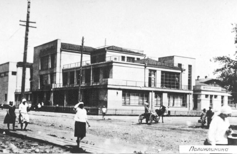 Серебренниковская 42 Центральная поликлиника кон20-нач 30-х