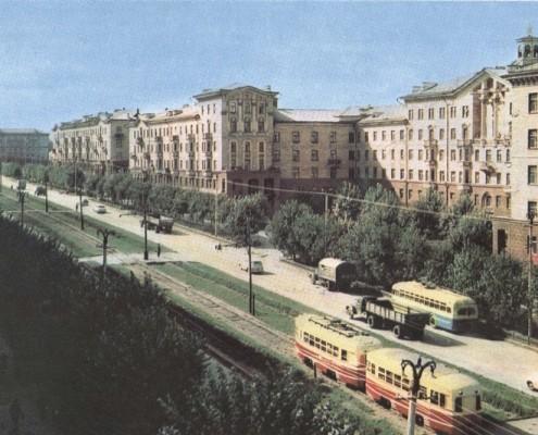 Улица Станиславского. 1964