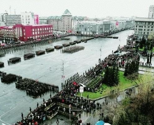 Военный парад. 09.05.2007