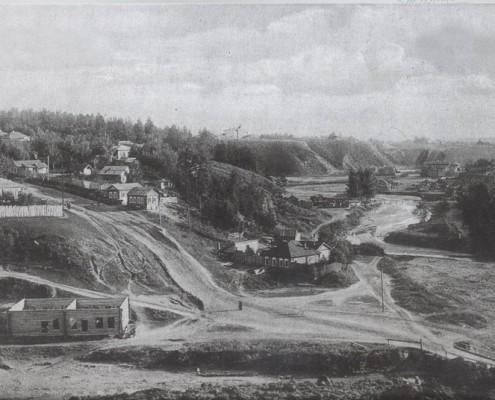 Закаменская часть поселка