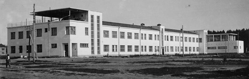 Залесского 6. Фото 50-х гг.