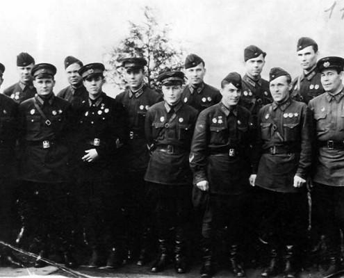 Боевые товарищи Гаранина