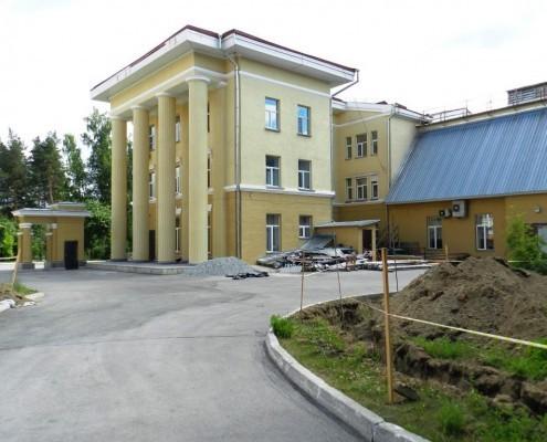 Фотография «Дом молодежи Первомайского района: северное крыло».