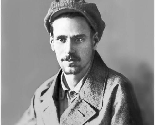 Фотография «Ю.В. Кондратюк - механик сибирских элеваторов» Фото 1927 года.