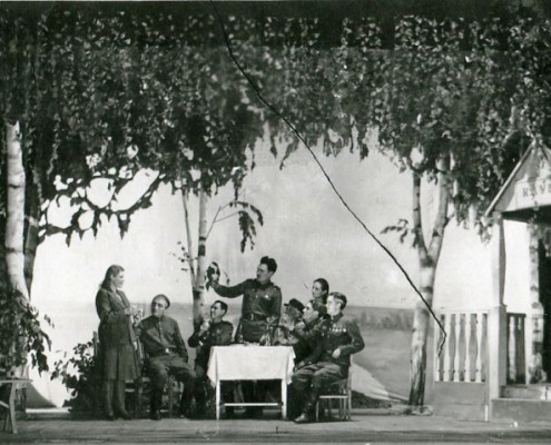Фотография «Спектакль «Пути дороги». Фото А.Ф. Моргун. 1948 год.