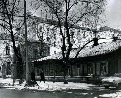 Фотография «Фрагмент ул. Советской» 1960-е годы.