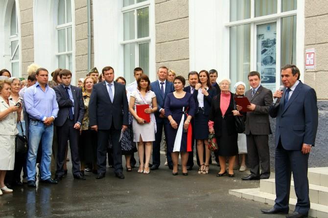 Открытие Музея Заельцовского района