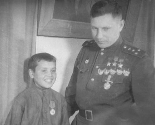 Покрышкин и Коля Губайдуллин
