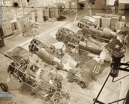 ремонт аварийных самолетов