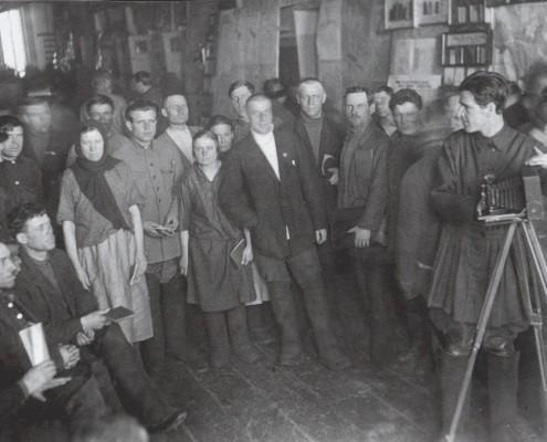 Выставка в театре 1925